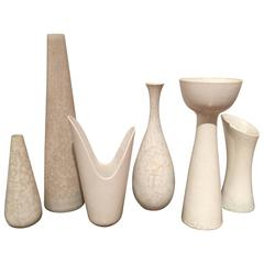 Grouping of Vases by Rörstrand, Sweden, circa 1960