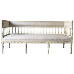 Late 19th Century Swedish Gustavian Style Sofa