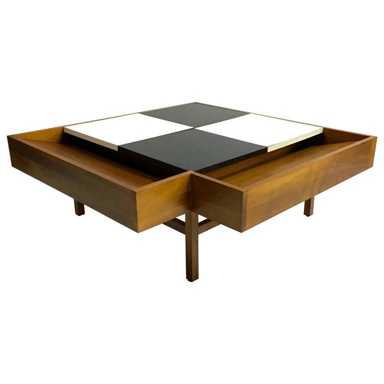 Coffee Table By Milo Baughman For Brown Saltman At 1stdibs