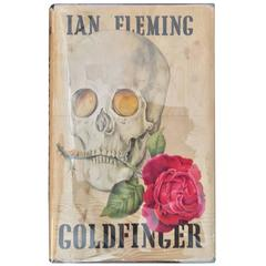 Goldfinger by Ian Fleming, 1st Edition in Original 1st Edition Dj, circa 1959
