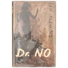 Dr. No by Ian Fleming, 1st Edition in Stunning Original Dust Jacket, circa 1958