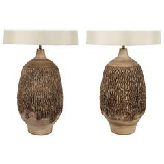 Pair of Design Technics Table Lamps