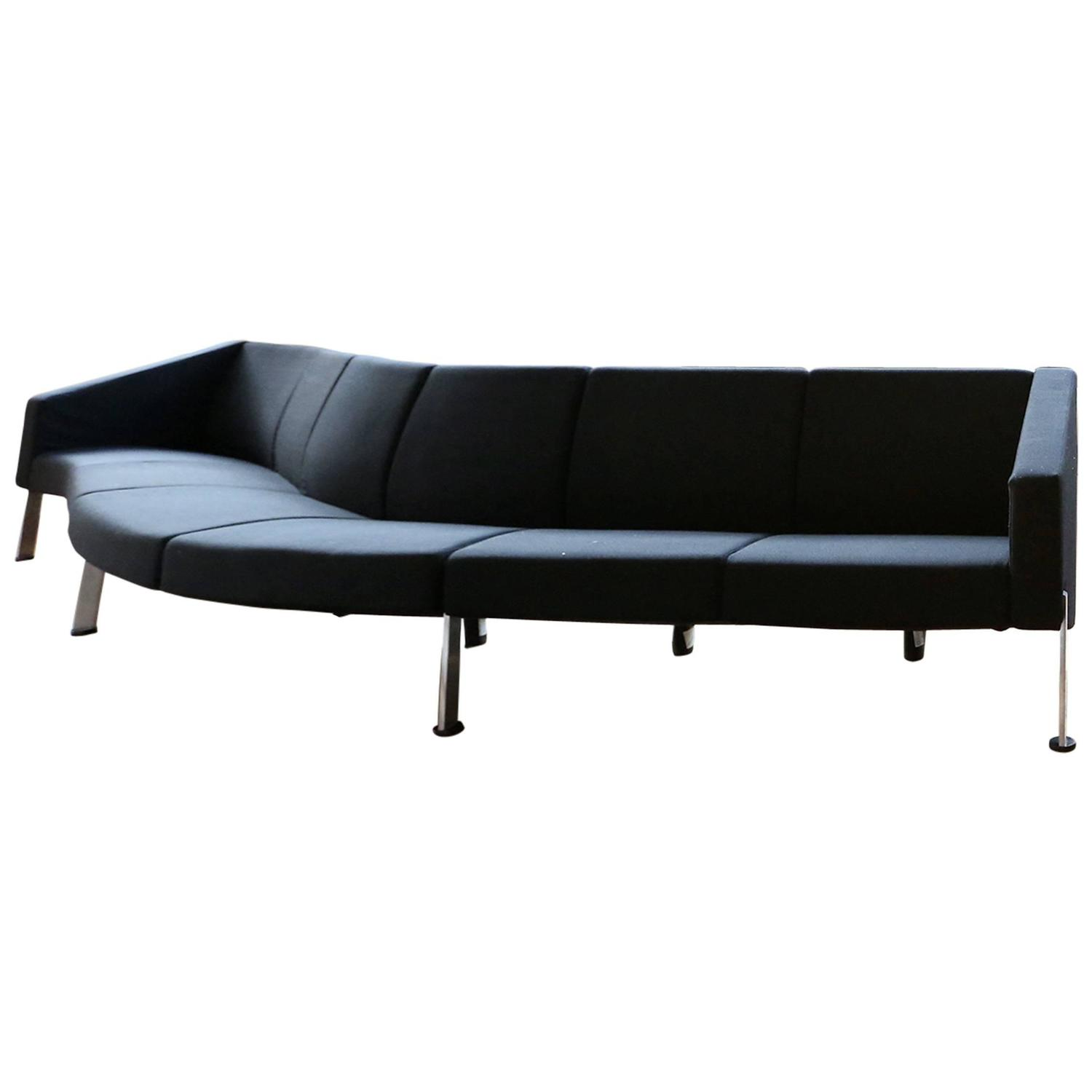 huge 39 decision 39 sofa by fritz hansen for sale at 1stdibs. Black Bedroom Furniture Sets. Home Design Ideas