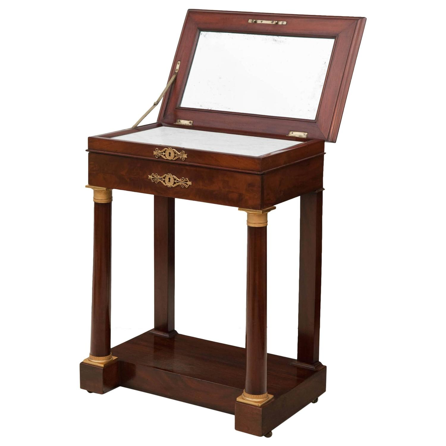 Small Empire Dressing Table at 1stdibs