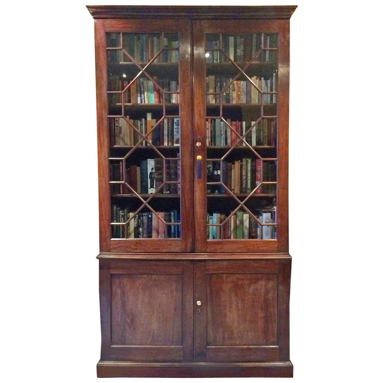 #925339 Antique Bookcase Victorian Mahogany Display Cabinet Two  with 1500x1500 px of Recommended Mahogany Display Cabinets With Glass Doors 15001500 save image @ avoidforclosure.info