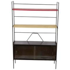 Metal Shelf Unit with Cabinet