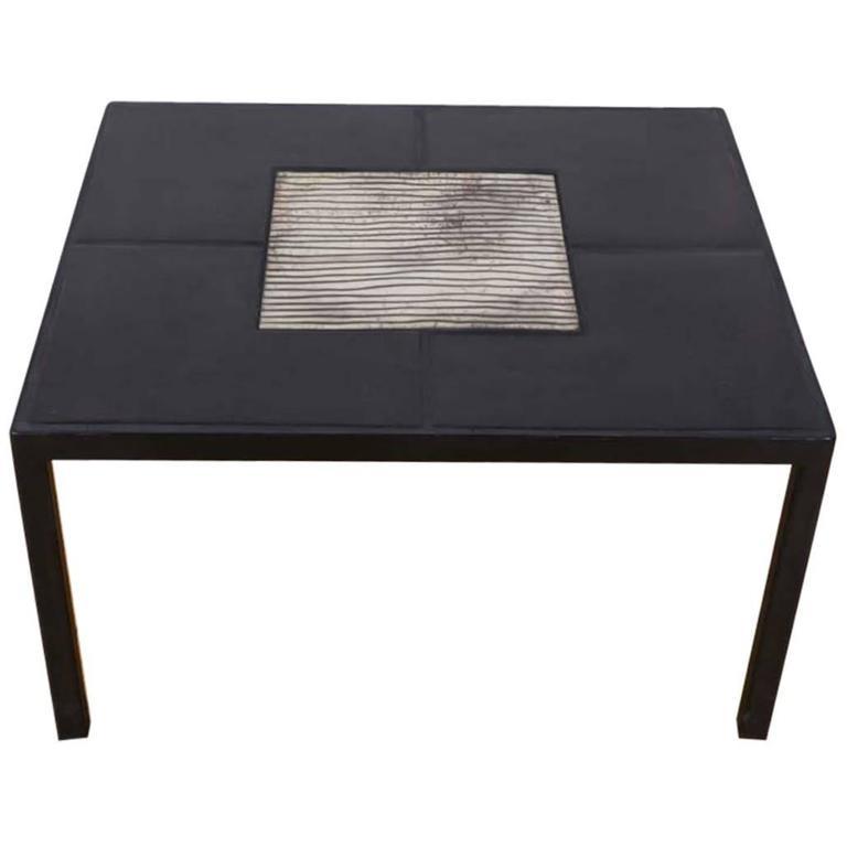 Marianne Vissiere, Raku Ceramic Table