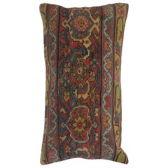 Lumbar Pillow from a Persian Mahal Rug