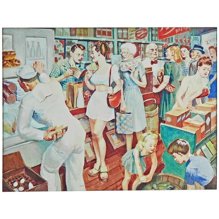 """""""Home Front Fox Hole,"""" Vivid Depiction of American Life During World War II"""