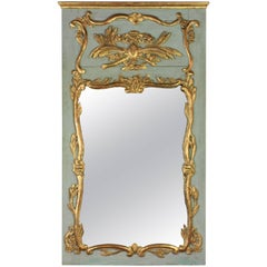 French Louis XV Period Trumeau Mirror