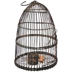 Vintage Tunisian Bird Cage