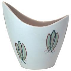 1950s Freeform Poole Pottery Vase
