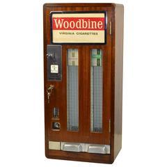 Vintage Woodbine Virginia Cigarettes Vending Machine