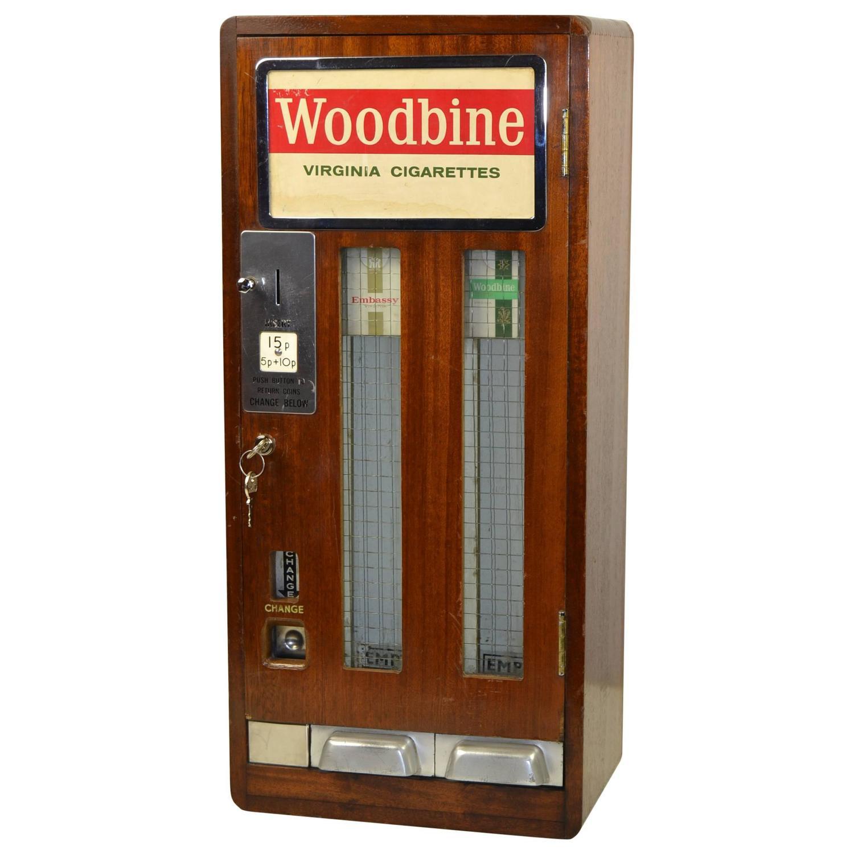 antique cigarette machine