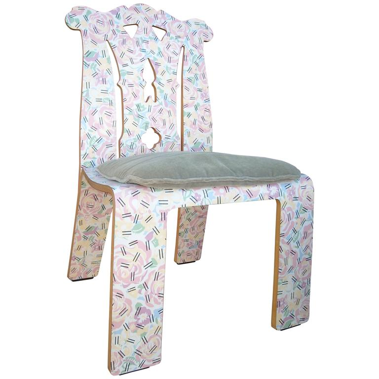 Robert Venturi, Chippendale Chair, Grandmotheru0027s Tablecloth, For Knoll For  Sale