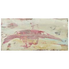 Encaustic Abstract Painting 7012