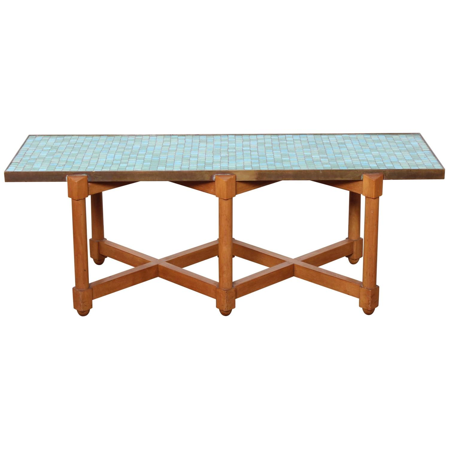 Murano Tile Table by Edward Wormley for Dunbar at 1stdibs