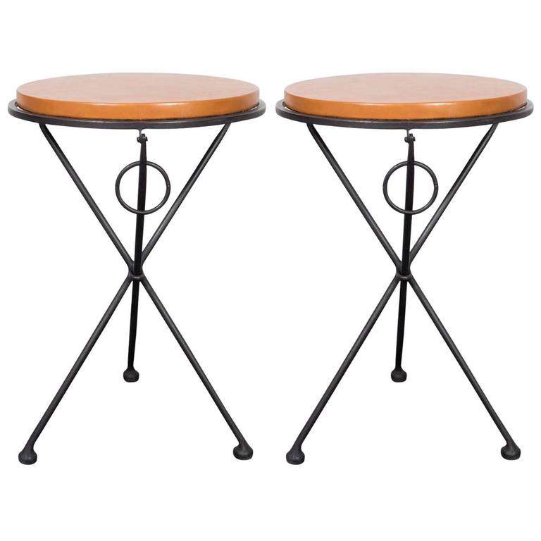 Pair of French Occasional Tables For Sale