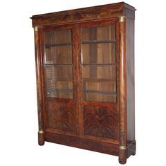 French Empire Period Bookcase