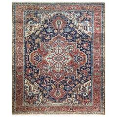 Antique Serapi/ Karajah Baft Carpet