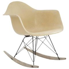 Early Production Eames Herman Miller RAR Rocking Chair