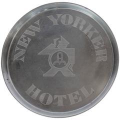 Original Art Deco New Yorker Hotel Tray