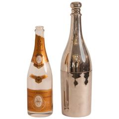 Champagne Bottle Jacket from Restaurant Taillevent in Paris