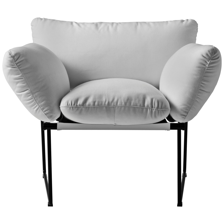 """Elisa"" Outdoor Armchair Designed by Enzo Mari for Driade"