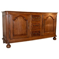 18th Century French Oak Enfilade