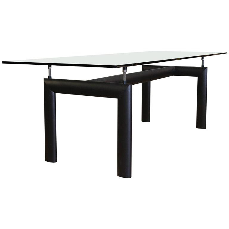 lc6 cassina table or desk by lecorbusier at 1stdibs. Black Bedroom Furniture Sets. Home Design Ideas