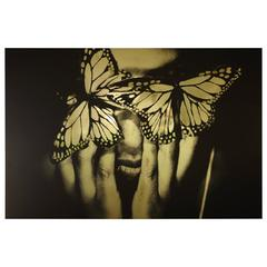 """""""Soulmates Transcendence,"""" Black and White Photo on Aluminum by Laya Love"""