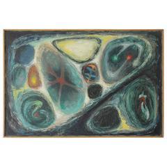 Dawaine Dart Oil Painting, 1952