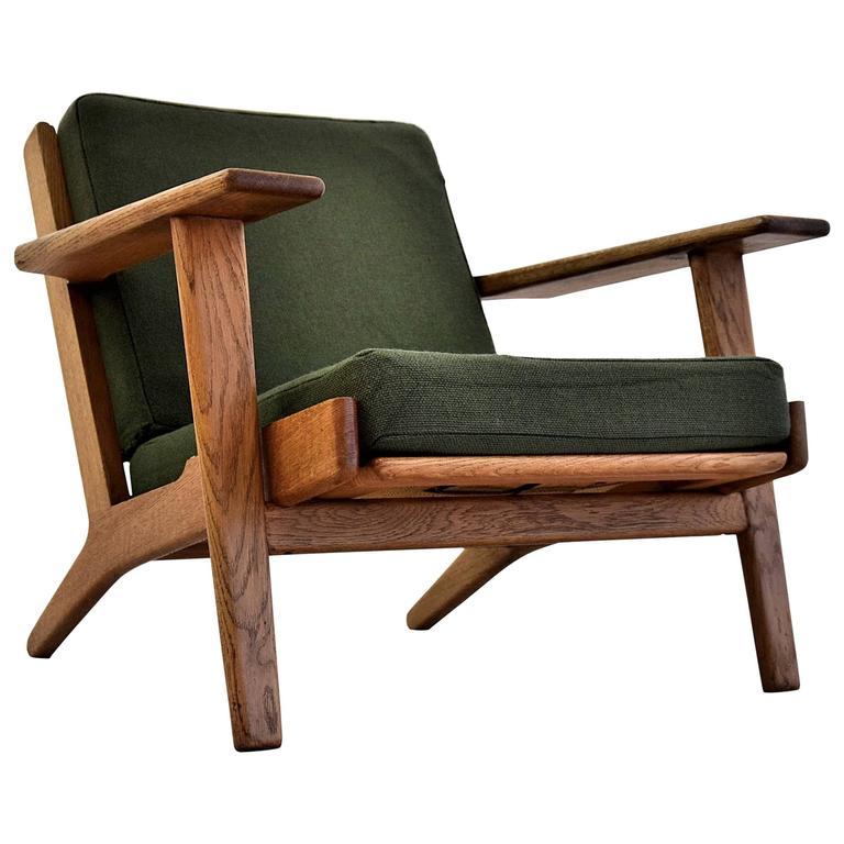 GE290 Low Back Lounge Chair by Hans J. Wegner