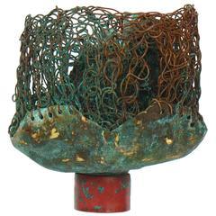 """Kieta Jackson """"Arte Factum"""" Brass and Copper Sculpture, 2015"""