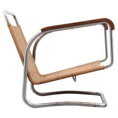 Jindrich Halabala Lounge Chair, circa 1930