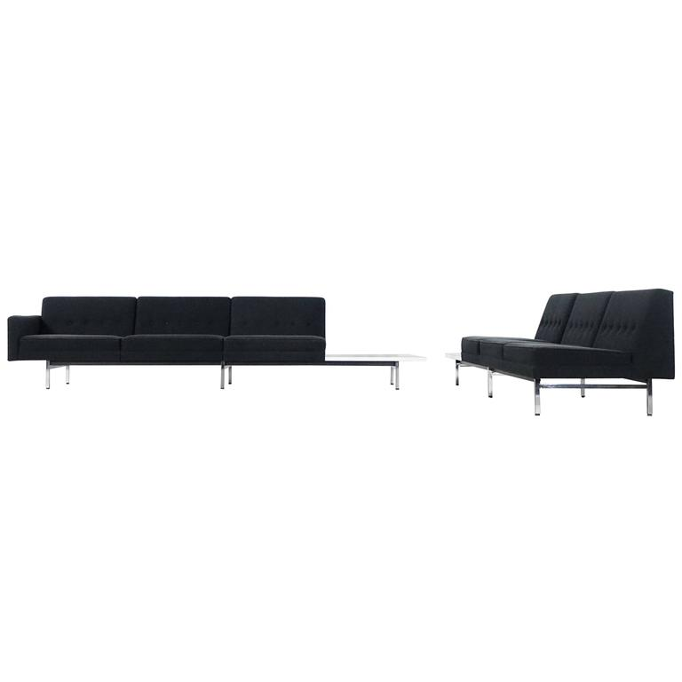 Modular System Seating Suite Sofa by George Nelson for Herman Miller Perfect For Sale