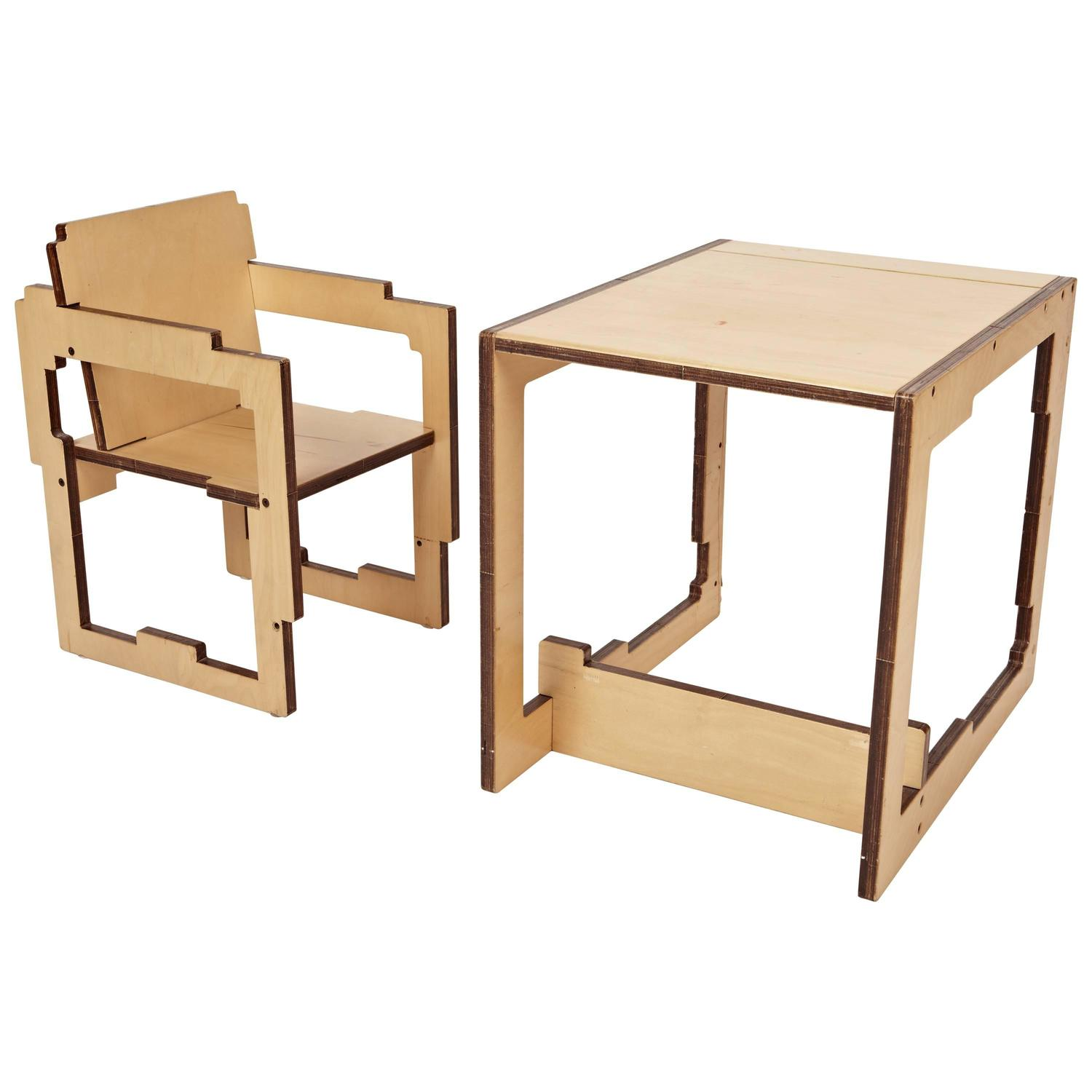 Style of Droog Convertible High Chair Kid s Table and