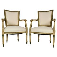 Pair of Early 1900s French Armchairs