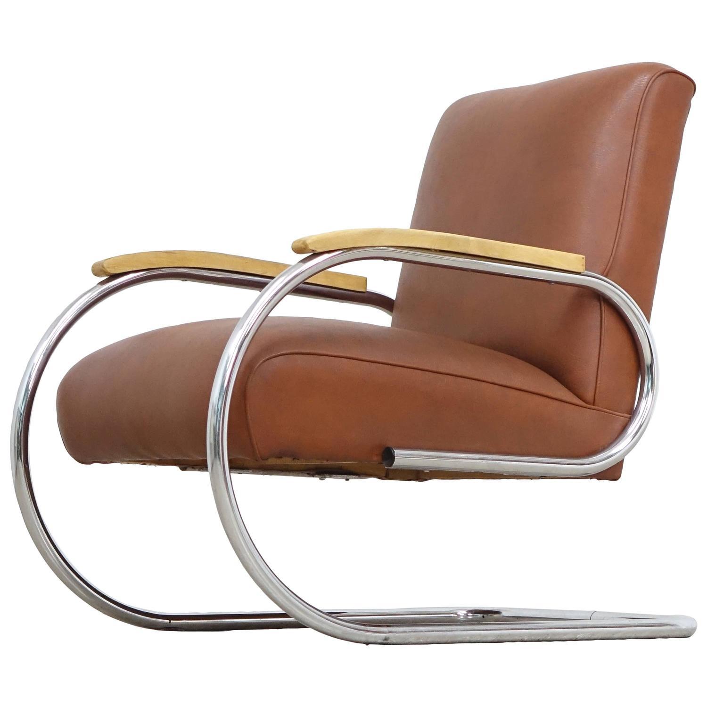 Bauhaus chair 1920 - Tubax Easy Chair Bauhaus 1920 Steel Tube Lounge Chair Breuer Art Deco At 1stdibs