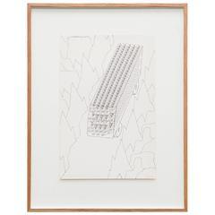 Thomas Bayrle Serigraphy on Paper