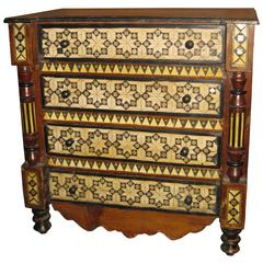 19th Century Inlaid Moroccan Chest