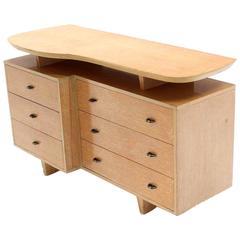 Unusual Mid-Century Modern Floating Top Dresser