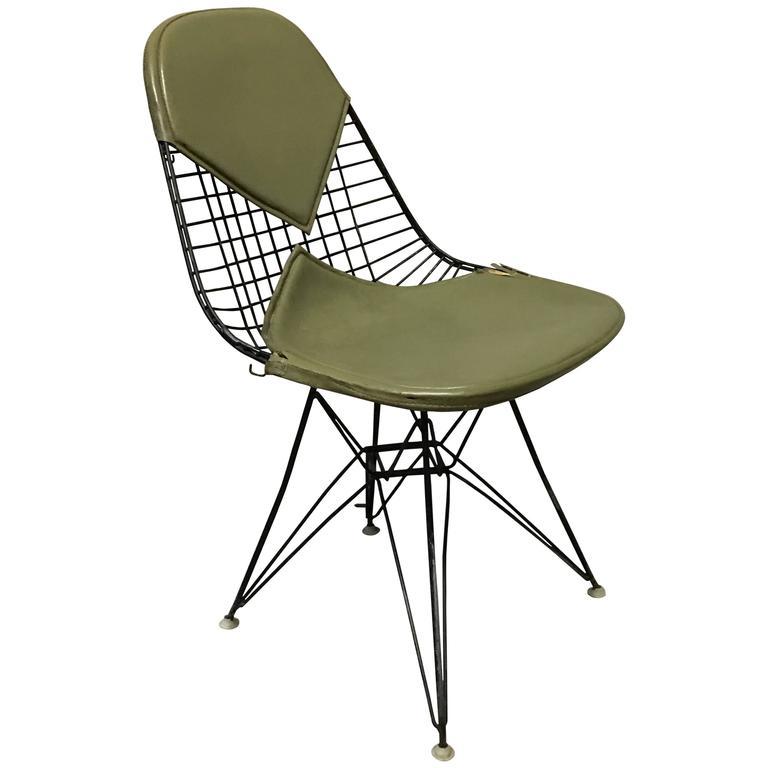 Herman Miller Eames DKR 2 Bikini Chair For Sale At 1stdibs
