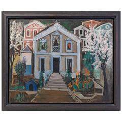 Ismael de la Serna ''Villa'' Oil on Canvas, Signed and Dated, 1952