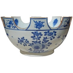 Blue and White Chinese Export Monteith Bowl