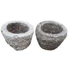 China Antique Stone Garden Cachepots, Perfect for Flowers, Herbs and More