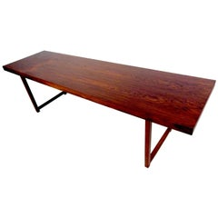 Milo Baughman Rosewood Coffee Table for Thayer Coggin