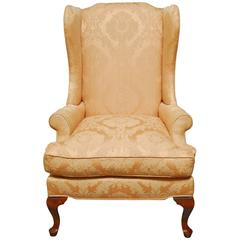 Queen Anne Wingback Chairs 21 For Sale At 1stdibs