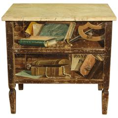 An Italian Miniature Apprentice-Painted Commode, 20th Century