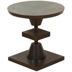 Dark Greywashed Oak Morro Table by Lawson-Fenning